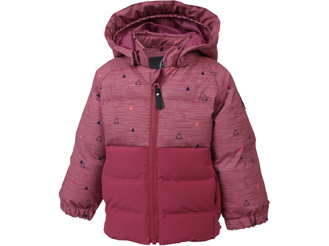 Color Kids Sheik Mini Veste rembourrée Fille, malaga rose